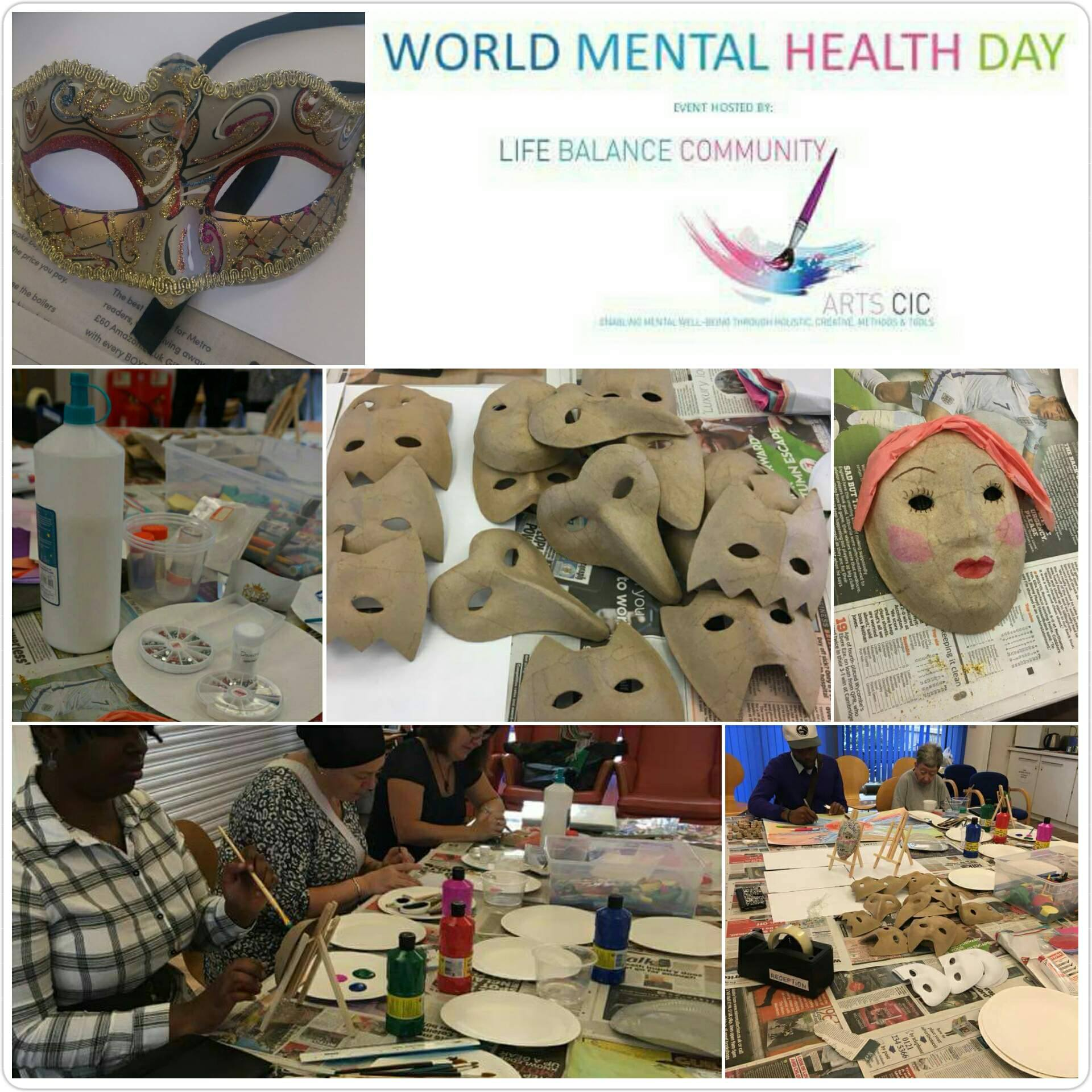 using the arts to celebrate world mental health day and raise awareness