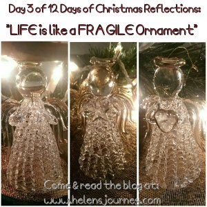 angel ornaments christmas reflections helens journey