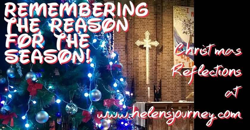 A Christmas life reflection reminding us of the reason for the season
