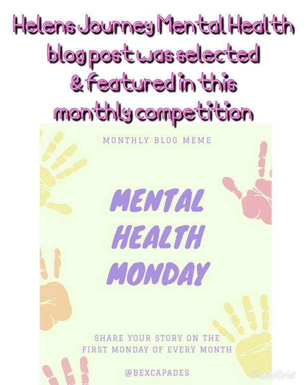 helens journey blog wins mental health monday twitter competition