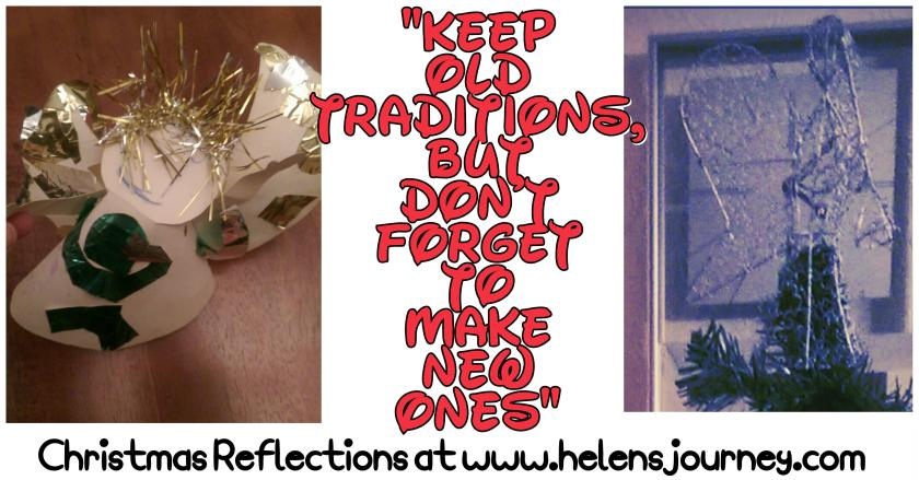 Finding the balance between old Christmas traditions and making new Christmas traditions
