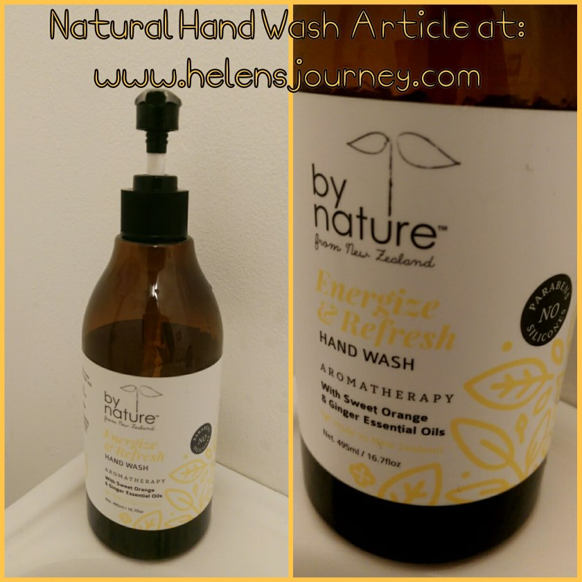 HAND CARE the NATURAL WAY! Looking after your hands by washing them the non-chemical way. Natural hand wash reviews at www.helensjourney.com
