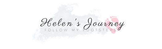 HELEN'S JOURNEY Blog logo. A wellness, positivity and gree eco-living blog