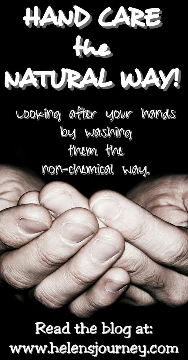 hand care the natural way. chemical free hand wash review by Helen's Journey