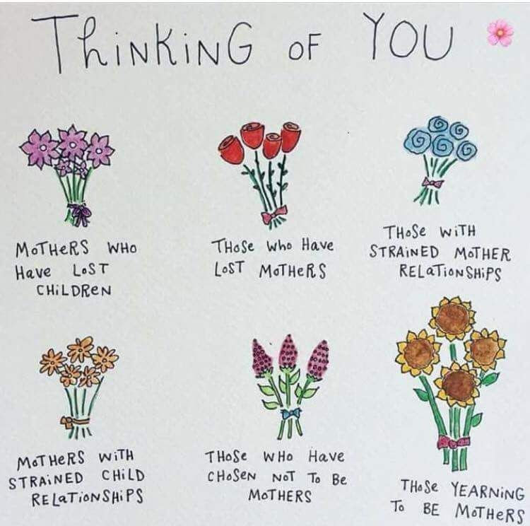 thinking of you on mothers day by helen's journey. A blog about being childless on mothers day