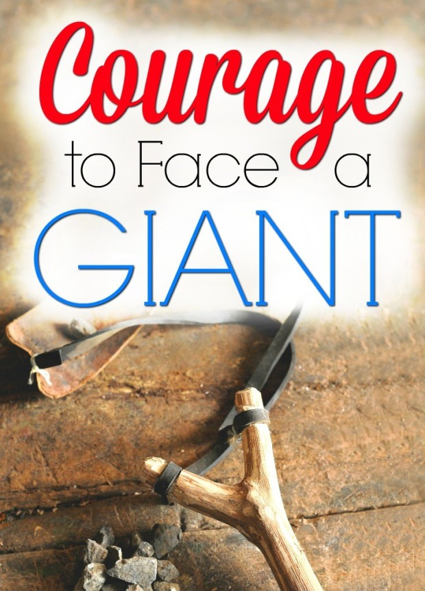 a blog to encourage you in having courage when facing a giant in life. fight like david against goliath. by helens journey blog www.helensjourney.com