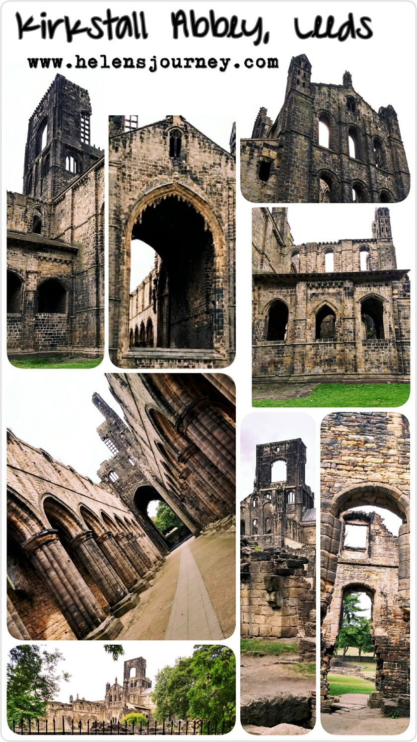 Kirkstall Abbey in Leeds, a beauty spot full of history - review by Helen's Journey Blog www.helensjourney.com
