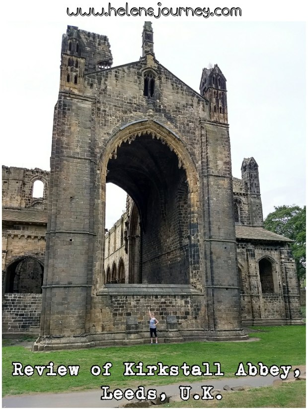 Review of Kirkstall Abbey. A free day out for all the family in Leeds