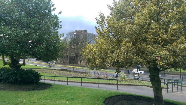 Review of Kirkstall Abbey disabled access. A free day out in Leeds with wheelchair access