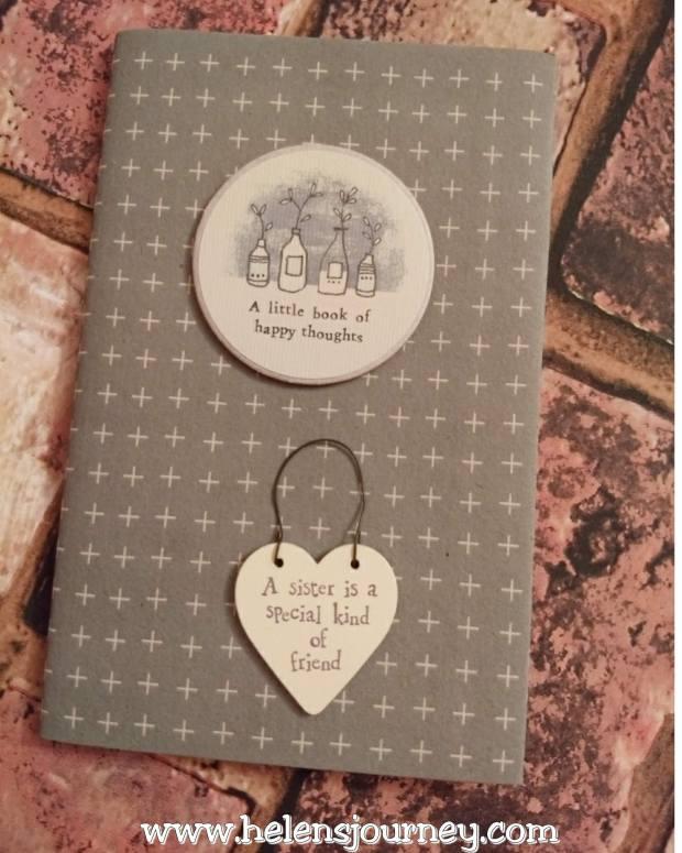 notepad gift ideas for loved ones birthday's by Helen's Journey Blog www.helensjourney.com