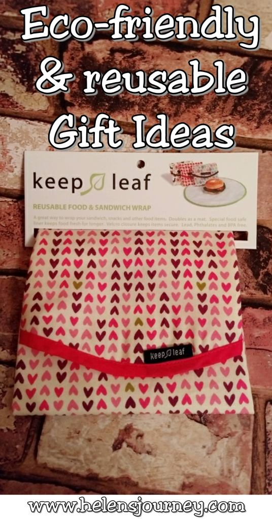 reusable and eco-friendly gift ideas for your loved ones by Helen's Journey Blog www.helensjourney.com