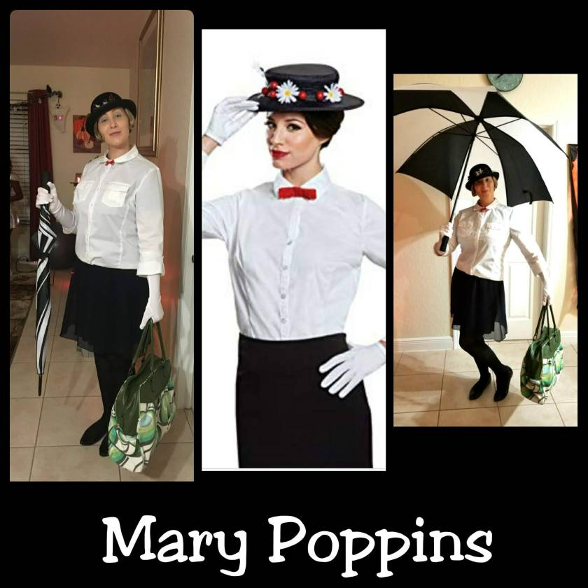 Mary Poppins Fancy Dress Costume DIY by Helen's Journey Blog www.helensjourney.com