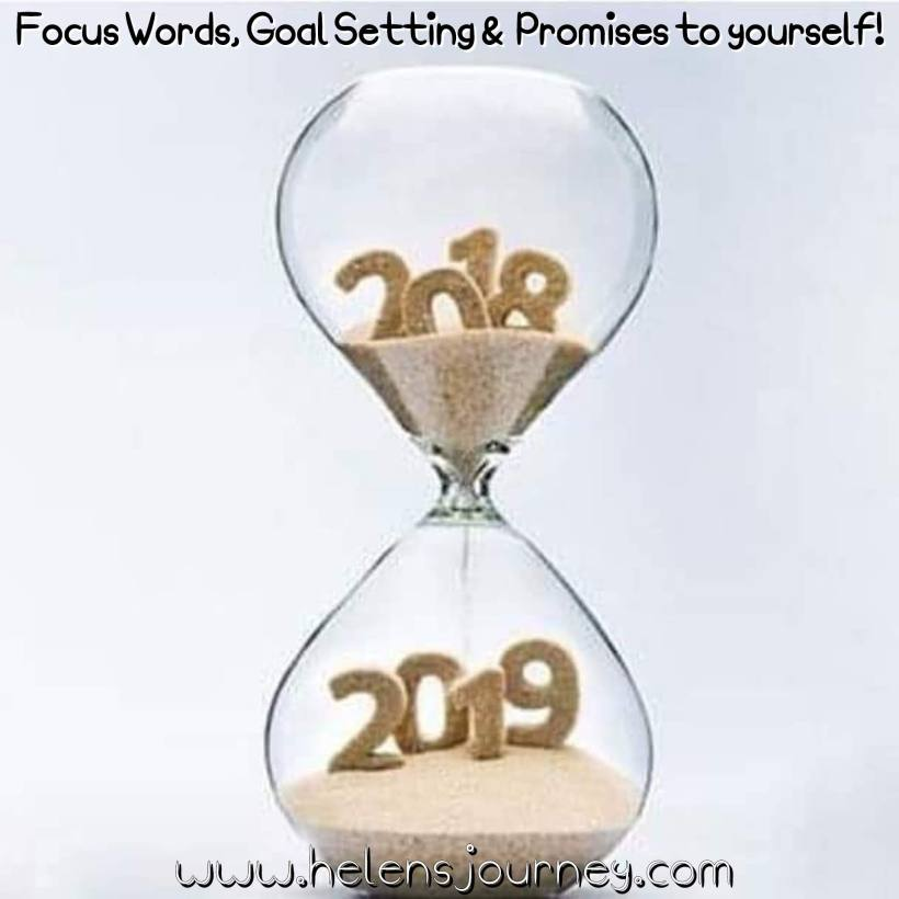 Set your New Year intentions with Focus Words, Goal Lists and Promises to yourself - as ways to be prepared, focused and ready for the new year ahead... www.helensjourney.com