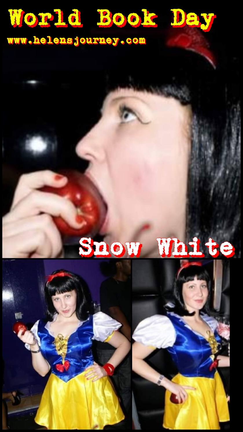 All about UK World Book Day and Snow White character costume idea