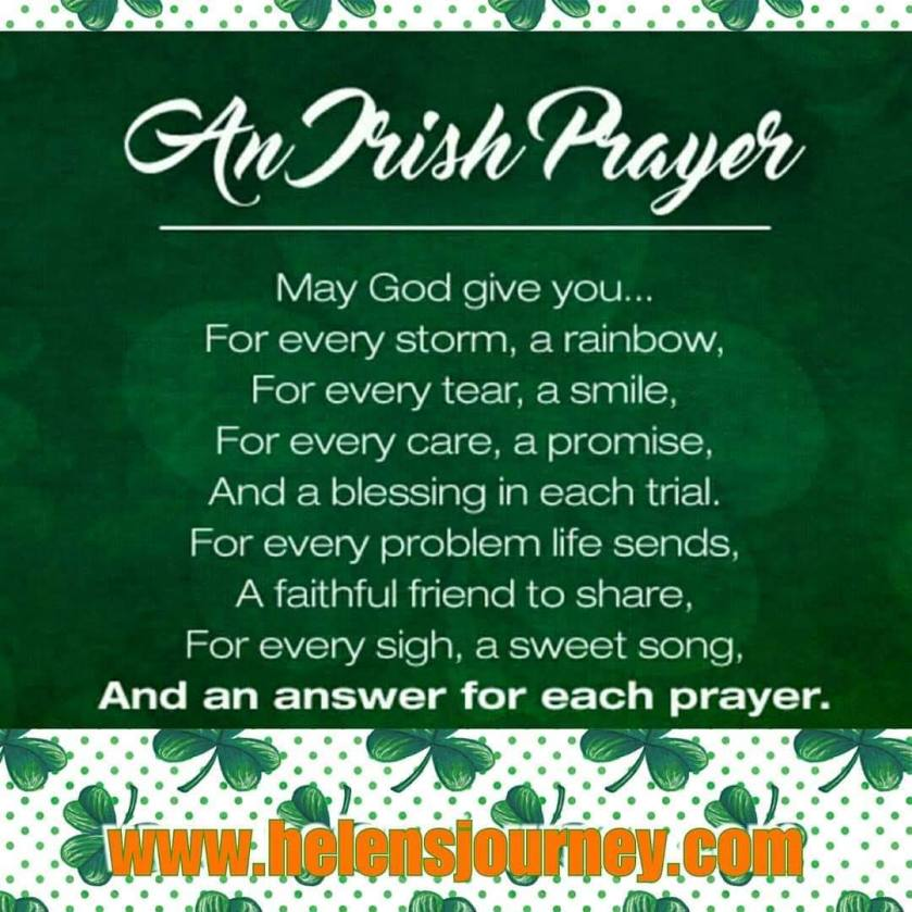 an irish prayer for saint patricks day