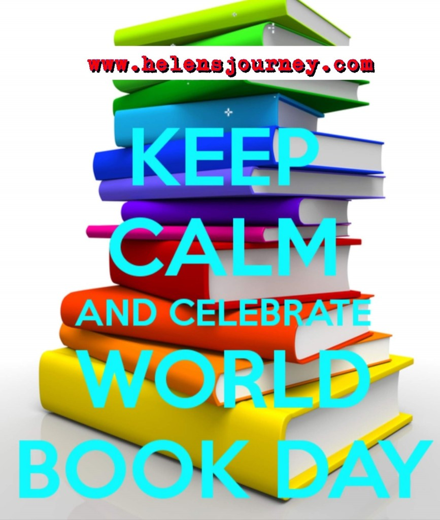keep calm and celebrate world book day by learning all about it with Helen's Journey Blog