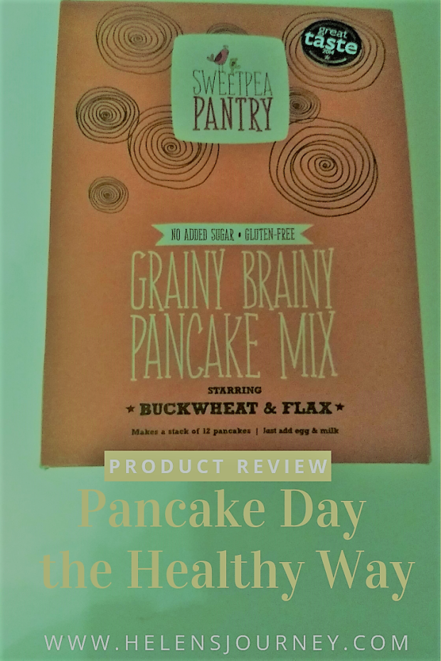 PANCAKE DAY THE HEALTHY WAY. Review of sweet pantry gluten free and vegan pancakes by Helen's Journey Blog