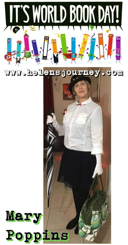 world book day mary poppins fancy dress costume idea and tutorial