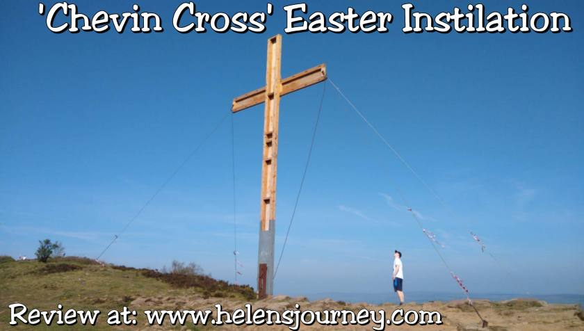 Otley Chevin Easter Cross Instillation in Leeds - review by www.helensjourney.com