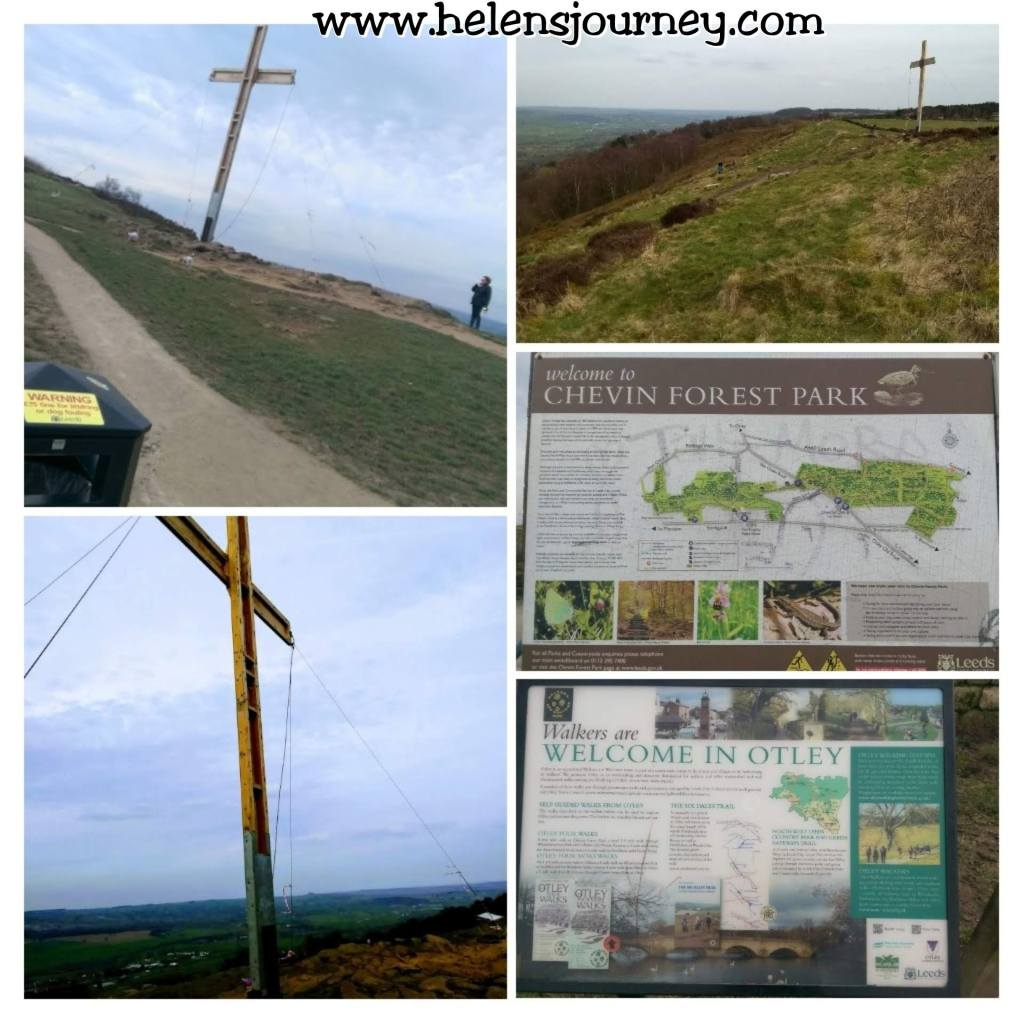 The history of the Chevin cross at Otley Chevin, Leeds, West Yorkshire by www.helensjourney.com