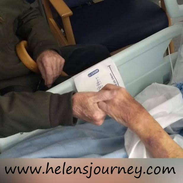 love and marriage - a reflection on the 70th wedding anniversary of my grandparents by www.helensjourney.com