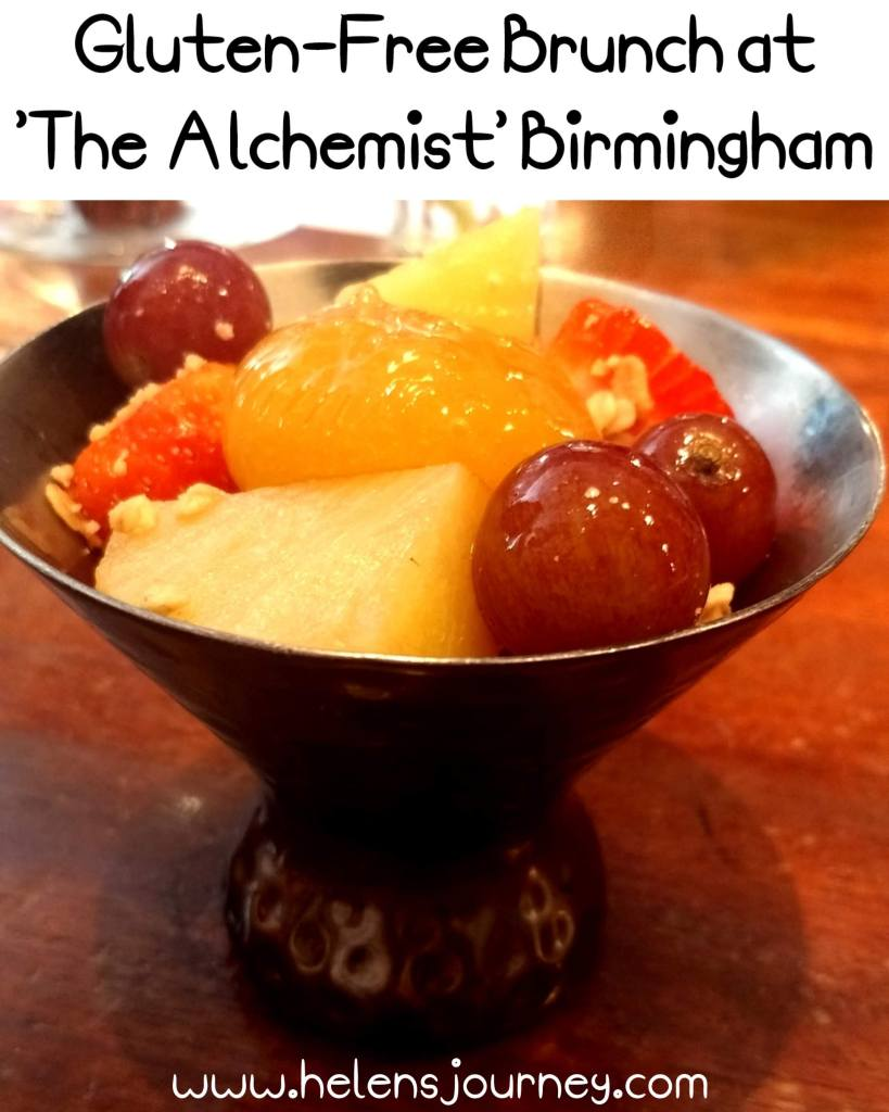 Food review of 2course Gluten-Free Brunch at The Alchemist Birmingham by www.helensjourney.com