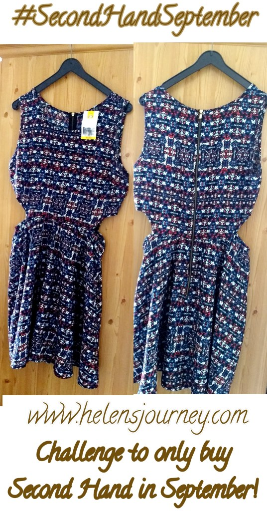 summer dress - second hard shopping find to support sustainable fashion #secondhandseptember