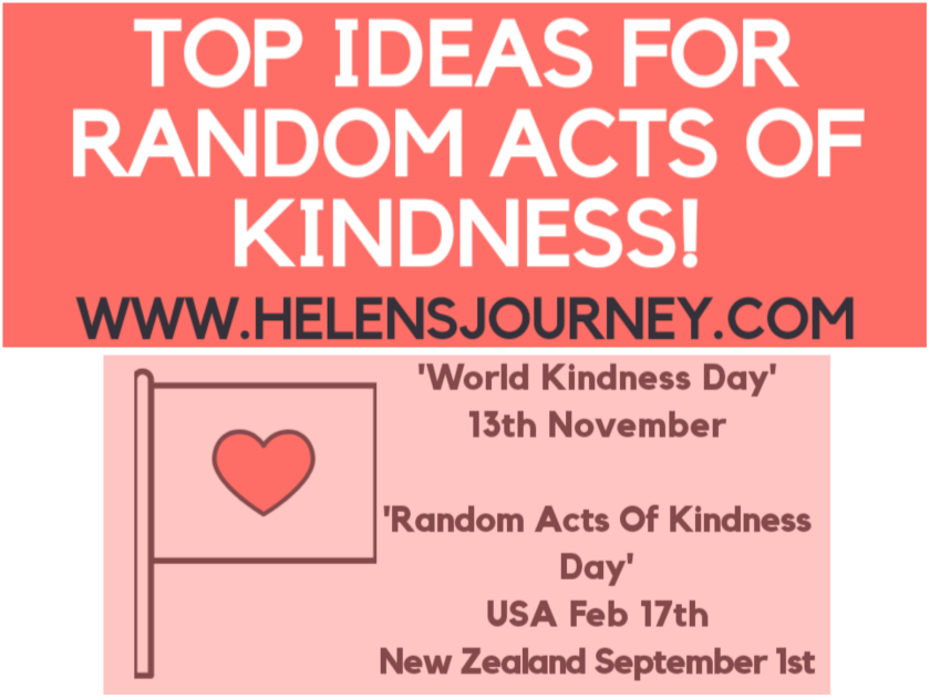 Top Ideas for random acts of kindness. random acts of kindness day ideas. world kindness day ideas
