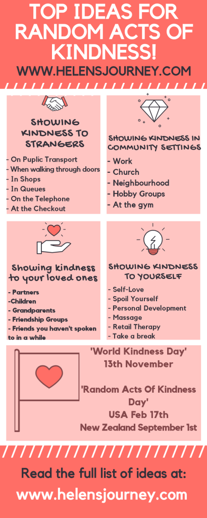 Top Ideas for random acts of kindness. World kindness day. random acts of kindness day.